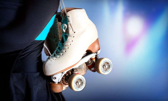 Skate Zone - Olathe Medical Center: $11 for Kids' Skating Outing with Two Admissions, Two Skate Rentals, and 20 Tokens at Skate Zone in Olathe ($21 Value)