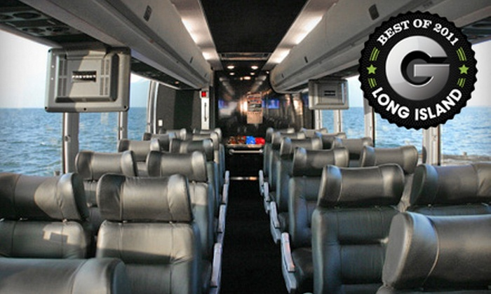 Hampton Luxury Liner - Multiple Locations: $149 for an All-Day Jazz and Wine Tour for Two from Hampton Luxury Liner ($350 Value)