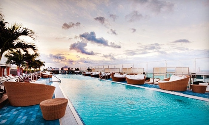 Gansevoort Miami Beach - Miami Beach: One-Night Stay for Two Sunday–Thursday or Friday–Saturday at Gansevoort Miami Beach