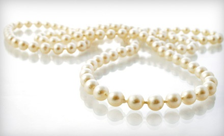 18-Inch Freshwater-Pearl Necklace (a $65 value) - Select Jewelers in Feasterville