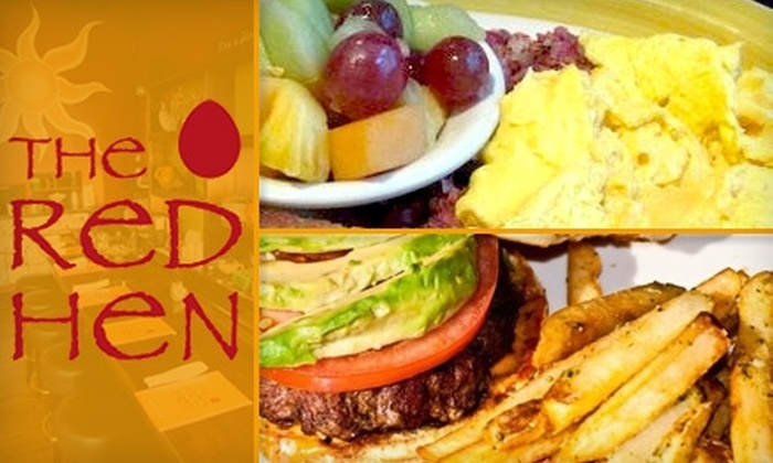 Red Hen - Alpharetta: $10 for $20 Worth of Breakfast and Lunch at The Red Hen