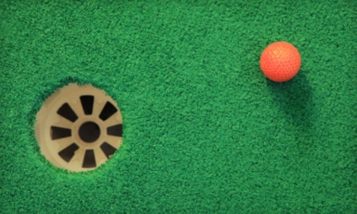 Putt-Putt Fun Center - Burlington: $8 for Two Rounds of Putt-Putt Golf, Two Sodas, and 20 Arcade Tokens at Putt-Putt Fun Center in Burlington (Up to $16 Value)