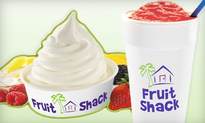 Fruit Shack Smoothies & Yogurt - Oro Valley: $10 for $20 Worth of Smoothies and Frozen Yogurt at Fruit Shack Smoothies & Yogurt in Oro Valley