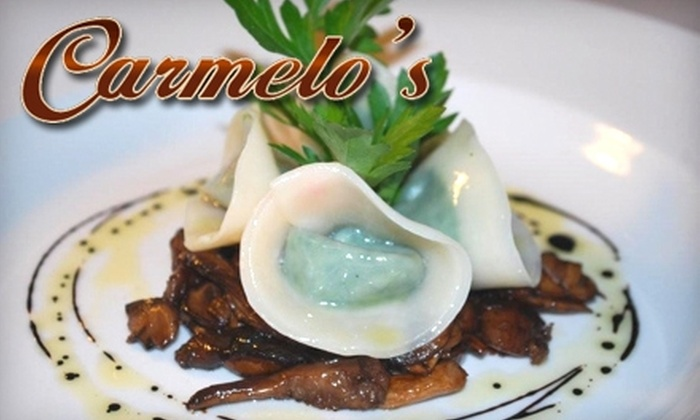 Carmelo's Italian Restaurant - Ambleside: $12 for $25 Worth of Italian Cuisine at Carmelo's in West Vancouver