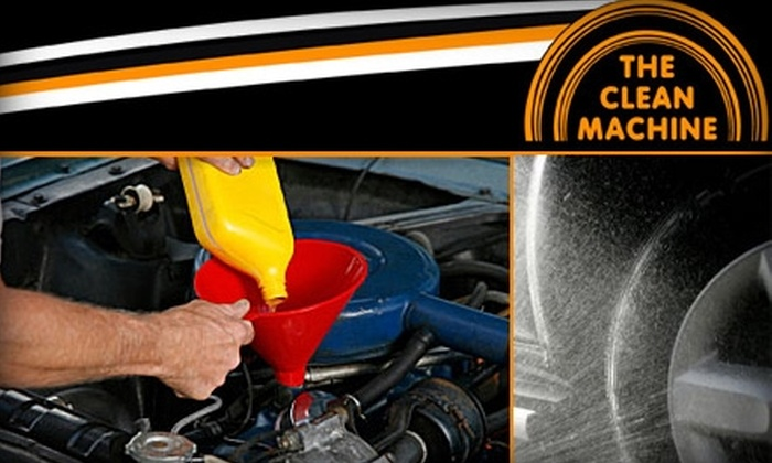 The Clean Machine - Framingham: $45 Oil Change and Super Basic Interior Cleaning at The Clean Machine. Buy Here for Vans and SUVs ($78.15 Value). See Below for Cars.