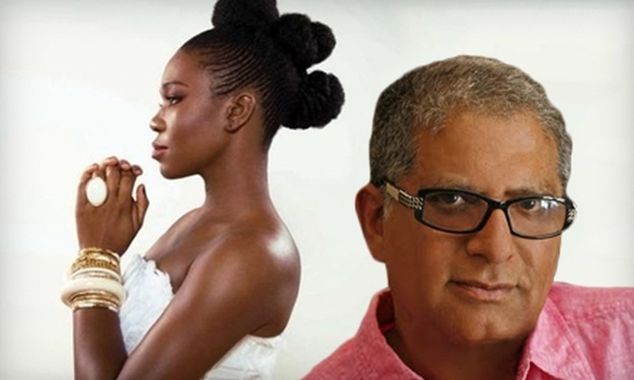 Music & Mastery Holistic Festival at Chene Park - Downtown: One Ticket to See Deepak Chopra and India.Arie at the Music & Mastery Holistic Festival at Chene Park on June 18 at 5 p.m.