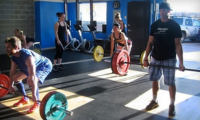 CrossFit Julia - Louisville: $65 for One Month of Platinum Membership and a Massage at CrossFit Julia ($249 Value) in Louisville