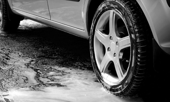 Soapy Suds Car Wash - Valencia: One or Ten Car Washes & Vacuums or Express Detail, Full-Service Hand Wash & Vacuum at Soapy Suds Car Wash in Valencia