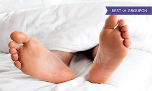 Advanced Foot & Ankle Clinic: Toenail Fungus Removal Packages at Advanced Foot and Ankle Clinics (Up to 79%Off). Four Options Available.