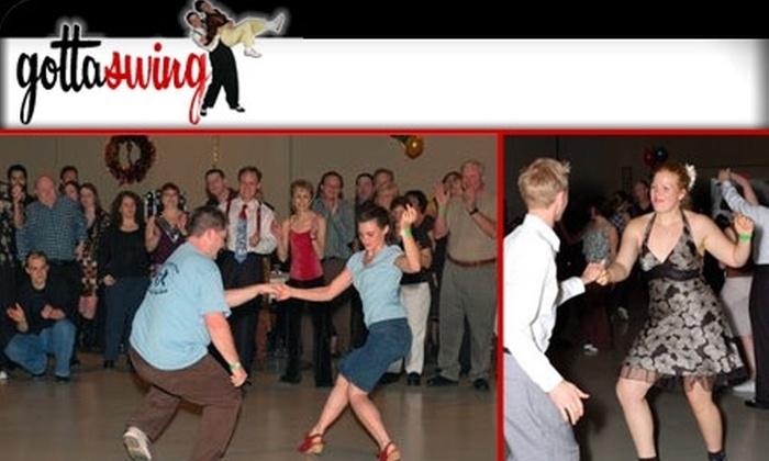 Gottaswing Charlotte - Chantilly: $6 Swing Dance Lessons and Live Swing Music at Gottaswing Charlotte ($12 Value)