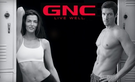 $40 Groupon to GNC - GNC in Albuquerque