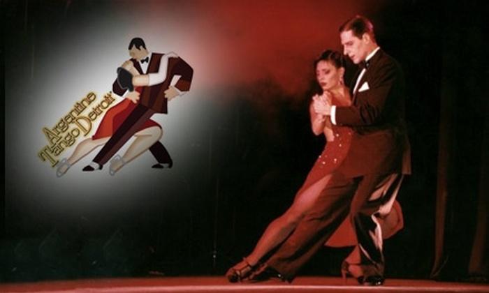 Argentine Tango Detroit - Detroit: $25 for Five Group Dance Lessons at Argentine Tango Detroit in Utica ($60 Value)
