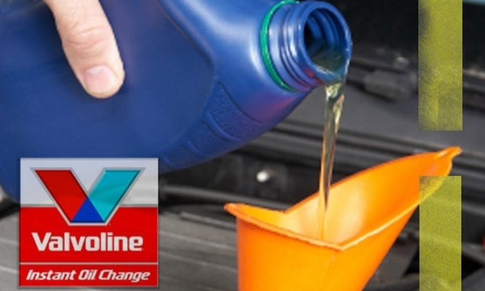 Valvoline Instant Oil Change - Multiple Locations: $19 for an Oil and Oil Filter Change at Valvoline Instant Oil Change ($41 Value)