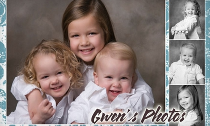 "Gwen's Photos - Wickham: $47 for 30-Minute In-Studio or On-Location Family or Child Photo Session and 8""x10"" Print Plus 30% Off Additional Prints at Gwen's Photos (Up to $105 Value)"
