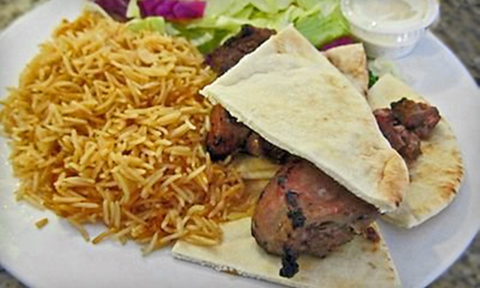 Aria Kabob Cafe - Kearny Mesa: Afghan Dinner or Lunch for Two at Aria Kabob Cafe (Up to 60% Off)