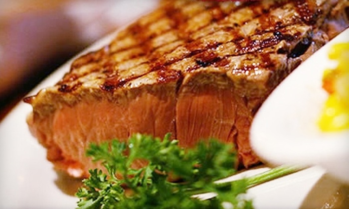 Flat Rock Grille at Cherrydale - Greenville: $15 for $30 Worth of Steakhouse Dinner Fare at Flat Rock Grille at Cherrydale (or $7 for $15 Worth of Lunch Fare)