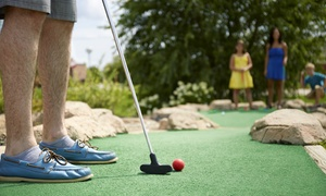 Peachtree Golf Center: Mini Golf for Two, Four, or Six or 10 or 20 Batting Cage Tokens at Peachtree Golf Center (Up to 52% Off)