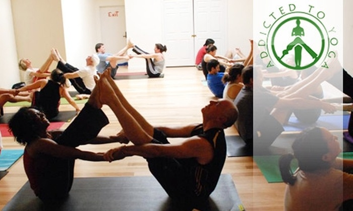 Addicted To Yoga - Chino: $20 for Five Classes at Addicted to Yoga in Chino ($65 Value)