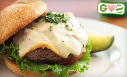 $16 Groupon to Burger DeLuxe - Burger DeLuxe in Wayne