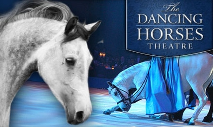 The Dancing Horses Theater - Delavan: $35 for Two Adult Tickets and Backstage Tour at The Dancing Horses Theatre in Delavan ($70 Value). Choose from 15 Dates.