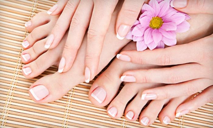 Nikki's Nails & Spa - Mission Hills South: Gel Manicure or Gel Mani-Pedi at Nikki's Nails & Spa (Up to 56% Off)
