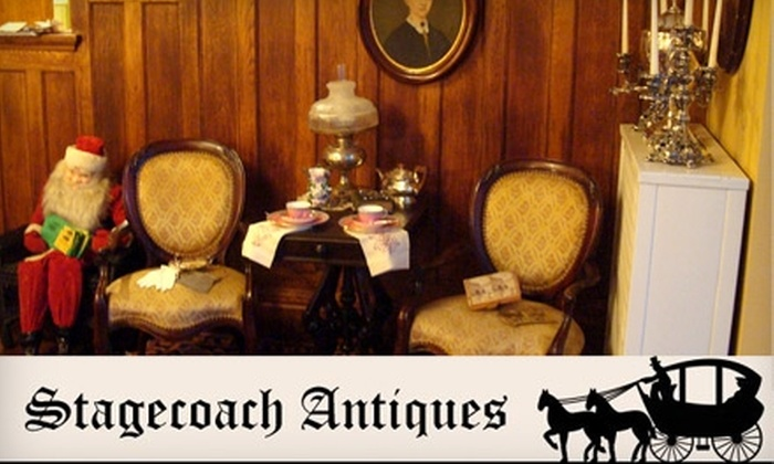 Stagecoach Antiques - Highland Square: $15 for $30 Worth of Antiques and More at Stagecoach Antiques