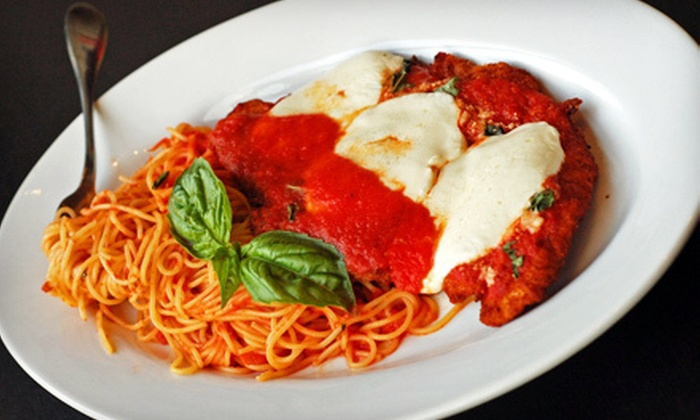 Jimmy's Bar & Oven - Washington Square: Italian Cuisine and Pizza at Jimmy's Bar & Oven in Brookline (Up to 56% Off). Two Options Available.