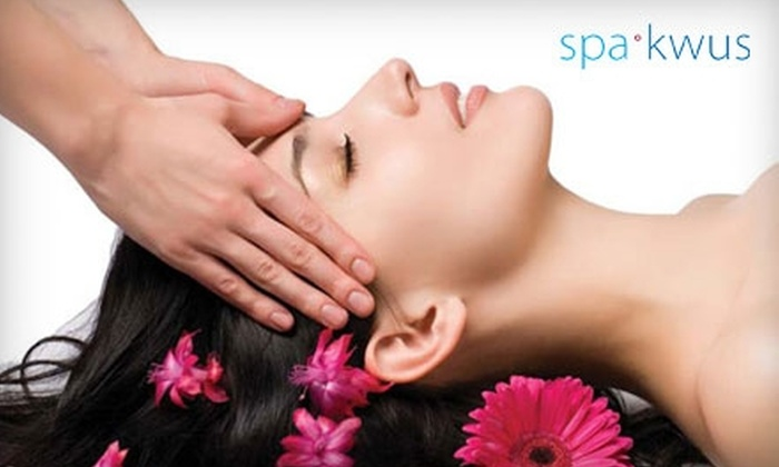 SpaKwus Organic Eco Spa - Grandview-Woodland: $30 for One of Three 30-Minute Organic Massages and a 30-Minute Infrared Sauna at SpaKwus Organic Eco Spa
