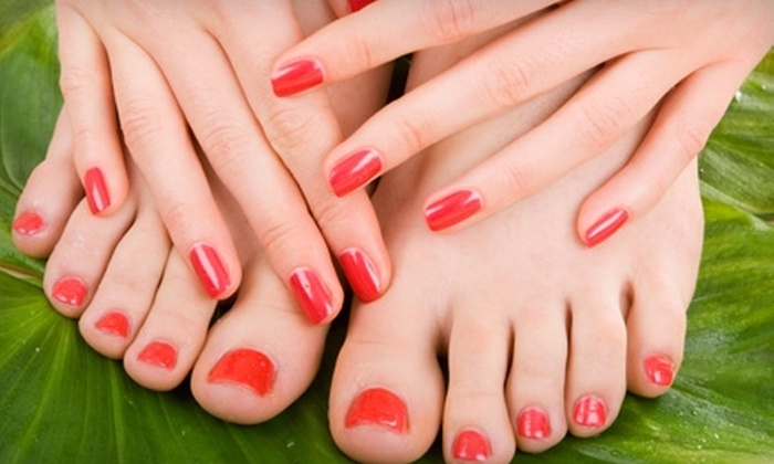 Inspire Hair Studio - Avondale: Manicure with a Pedicure or Facial in Avondale