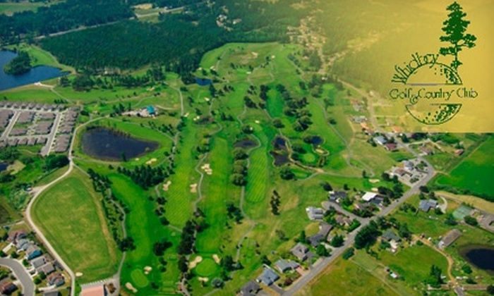 Whidbey Golf & Country Club - North Whidbey: $39 for 18 Holes of Golf, a Golf Cart, and Unlimited Range Balls at Whidbey Golf and Country Club in Oak Harbor (Up to $85 Value)