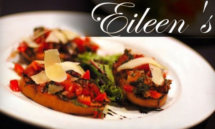 Eileen's - Summerville: $15 for $30 Worth of Upscale New American Cuisine and Drinks at Eileen's