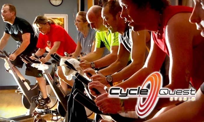 CycleQuest Studio - Minnetonka - Hopkins: $30 for a Five Class Pass at CycleQuest Studio in Eden Prairie