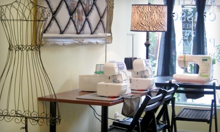 53% Off Intro Course At The Sewing Studio