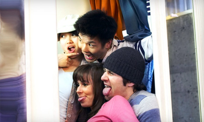 Show Me Photobooth - St Louis: $525 for a Four-Hour Photo-Booth Rental from Show Me Photobooth ($1,100 Value)
