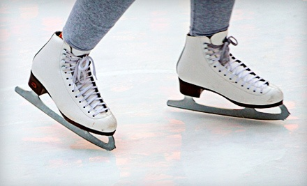 Public Ice Skating and Skate Rentals for Two on a Weekday  - Saveology.com Iceplex in Coral Springs