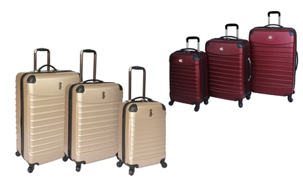 Bill Blass Voyager 3-Piece Hardside Luggage Sets