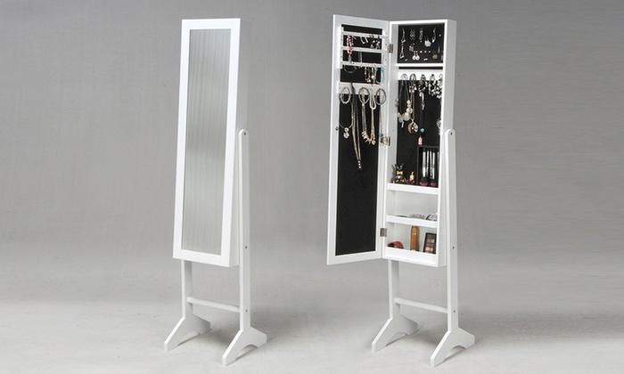 miroir coffre bijoux groupon shopping. Black Bedroom Furniture Sets. Home Design Ideas