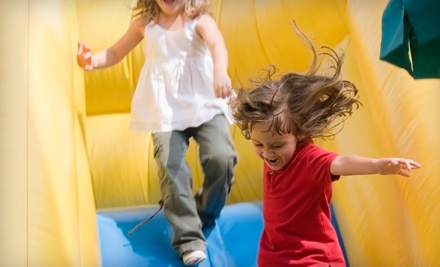Four or Eight All-Access Open Bounce Visits or Classic Bounce Party for 20 Kids at Bounce-A-Rama (Up to 55% Off)