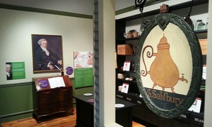 Worcester Historical Museum: Worcester Historical Museum Visit for Four, Six, or Eight (50% Off)