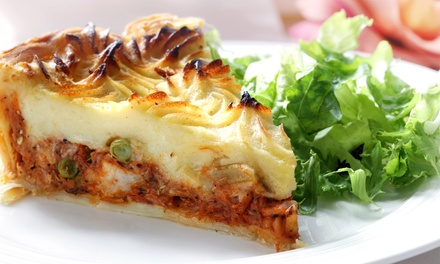 Irish Dinner for Two or Four at St. Brendan's Inn (Up to 47% Off). Four Options Available.