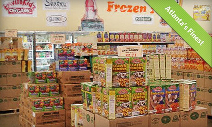 Natural Foods Warehouse - Multiple Locations: $15 for $30 Worth of Natural Groceries and Supplements at Natural Foods Warehouse