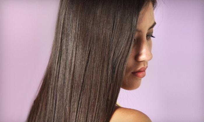Salon Z! - Arlington: Keratin Treatment or Haircut Package at Salon Z! in Arlington