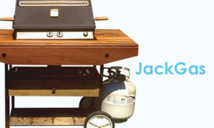 JackGas - North Jersey: : $12 Propane Delivery and Exchange at JackGas ($25 Value)