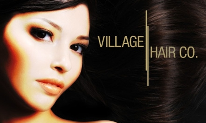 Village Hair Company - Keewaydin: $75 for a Groupon-Exclusive Salon & Spa Package, Including Five Different Services, at Village Hair Company