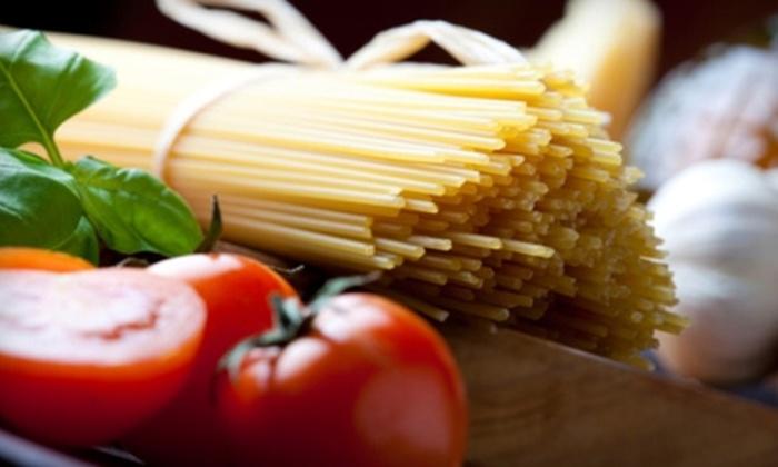 Tony's Italian Ristorante - Columbus: Italian Dinner Fare and Drinks at Tony's Italian Ristorante. Two Options Available.