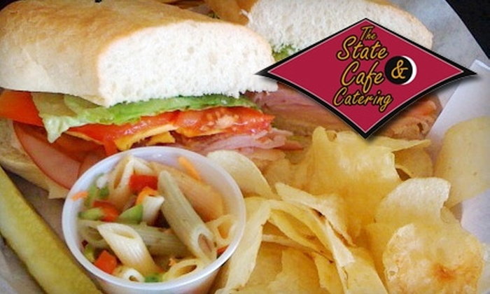 The State Café & Catering Restaurant - South Bend: $4 for $8 Worth of Home-Style Cooking or $25 for $50 Worth of Catering from The State Café & Catering Restaurant
