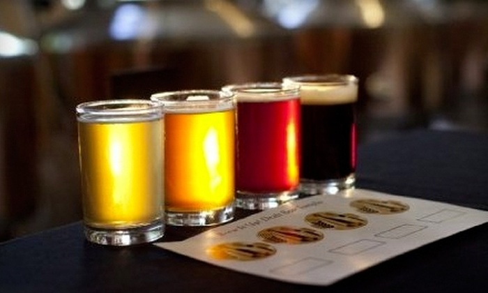 Brew It Up! Brewery & Grill - Central Sacramento: $16 for a Tasting Experience for Two ($34 Value) or $10 for $20 Worth of Lunch Fare at Brew It Up! Brewery & Grill