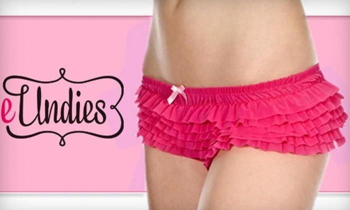 eUndies.com: $15 for $30 Worth of Women's Underwear and Sleepwear from eUndies.com