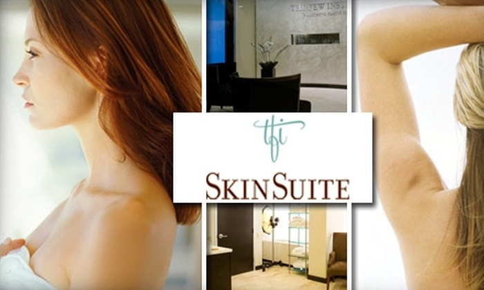 The Few Institute for Aesthetic Plastic Surgery - Near North Side: $85 for a SilkPeel Dermalinfusion From The SkinSuite at The Few Institute for Aesthetic Plastic Surgery ($195 Value)