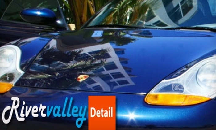 Rivervalley Detail - Yorktown: $79 for a Premium Mini Detail from Rivervalley Detail (Up to $160 Value)